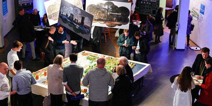 Co-creatieve sessie met bewoners en stakeholders van De Plekkenmakers voor ParkHaven010 Rotterdam.