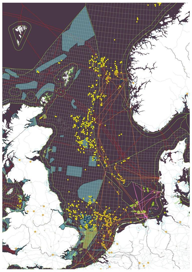 Verstedelijking van de Noordzee