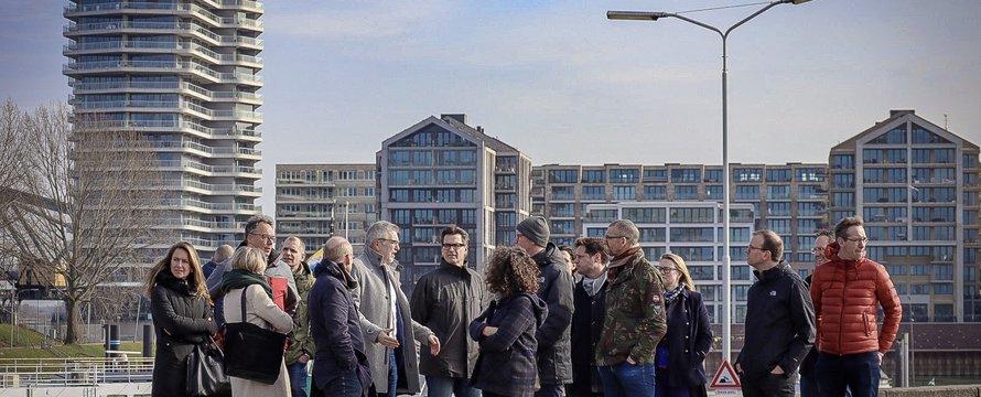 Waalfront Nijmegen - bezoek (Wouter Jan Verheul)