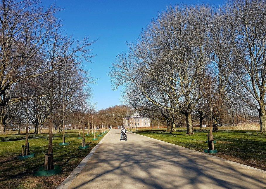 Geusseltpark, Groene Loper in Maastricht