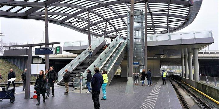 Metrostation Noorderpark 2018