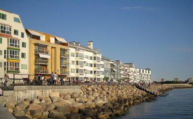 Vastra Hamnan Zweden, Bo01 -> The West Harbour in Malmö, Sweden. Author sv:User:Jorchr