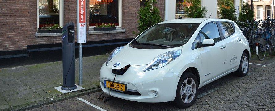 Elektrische auto laadpaal