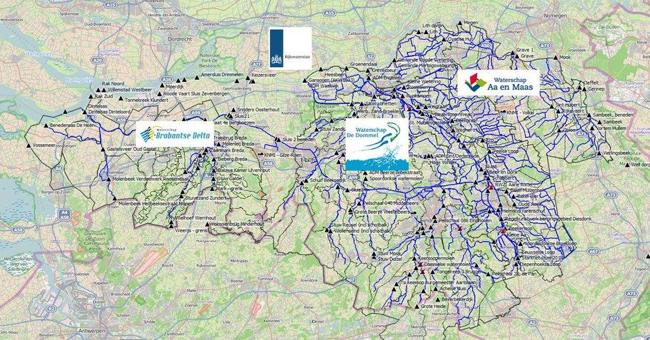 Monitoring van neerslag in Noord-Brabant