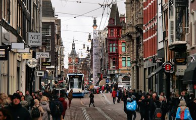 """Amsterdam: Leidsestraat"" (CC BY 2.0) by Jorge Franganillo"