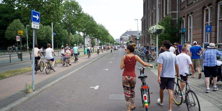 Cartesiusweg in Utrecht