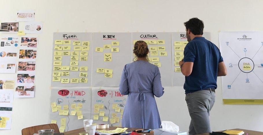 Co-creatieve ambitiesessie van De Plekkenmakers.