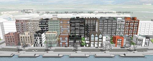 Nieuwe Amsterdamse wijk Houthaven krijgt vorm - Afbeelding 1