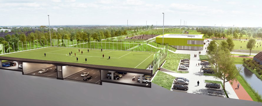 Sportpark Schiedam © MoederscheimMoonen Architects