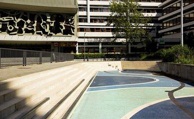 Benthemplein, Waterplein in Rotterdam