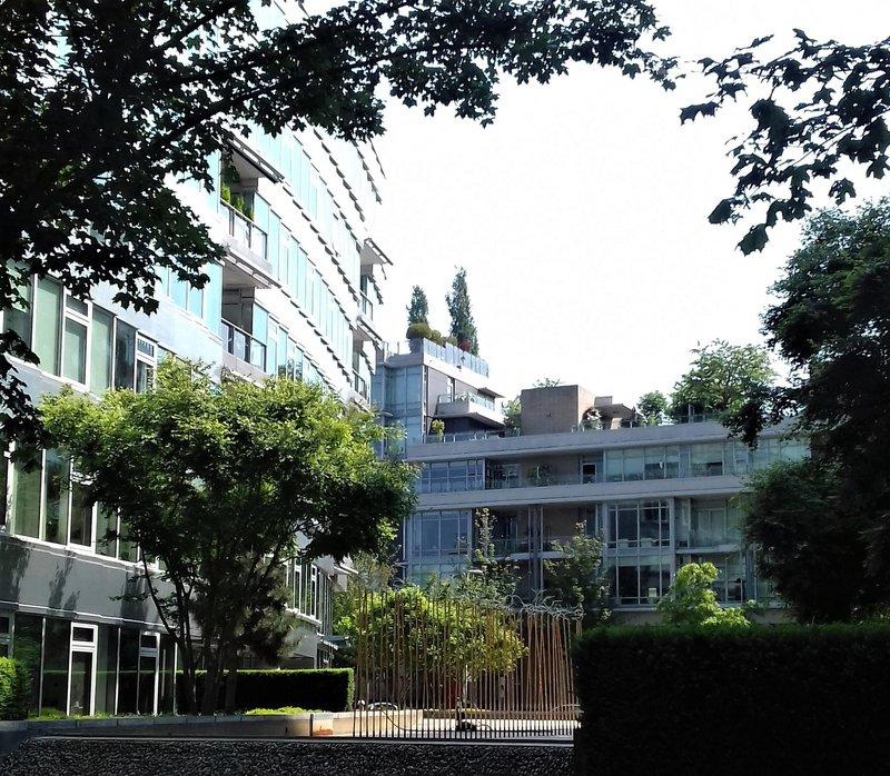 Ingrid Rompa_Extreem hoge bomen die voor koeling zorgen in appartementen