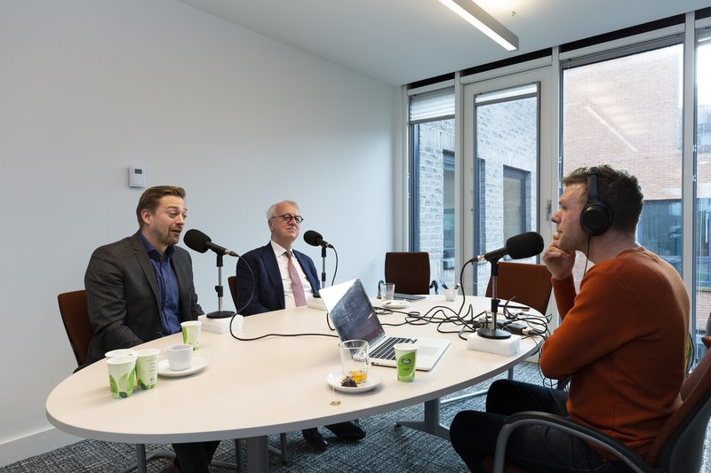 foto podcast sven en peter