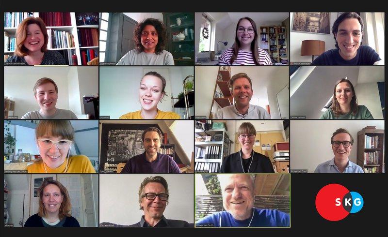 Team Stichting Kennis Gebiedsontwikkeling (zomer 2020)