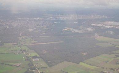 "Lommel vanuit de lucht"" (Public Domain) by josbert.lonnee -> Nederland luchtfoto"
