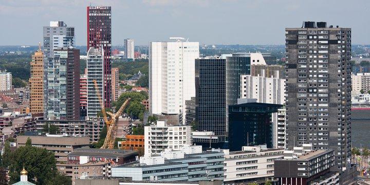 Rotterdam aerial SHUTTERSTOCK