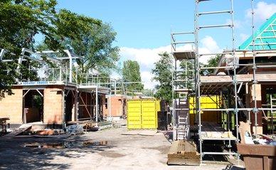 """nieuwbouw / woningbouw -> Construction site"""" (Public Domain) by DennisM2"""