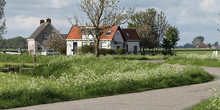 periferie landweg platteland