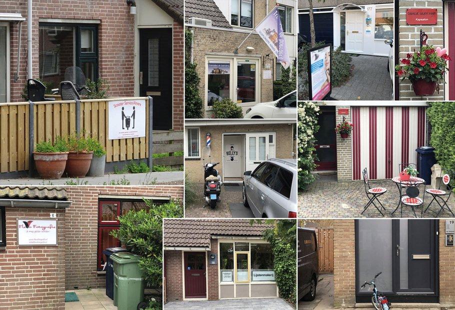 Bedrijven-aan-huis in Almere Muziekwijk