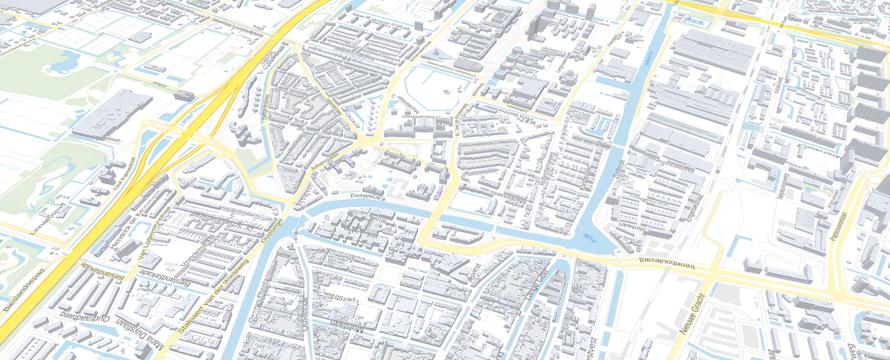 Screenshot 3D BAG Viewer - Delft