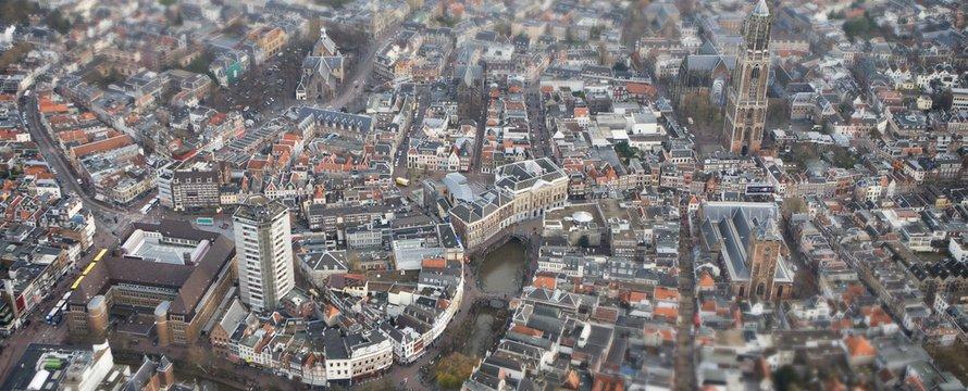 Luchtfoto Utrecht
