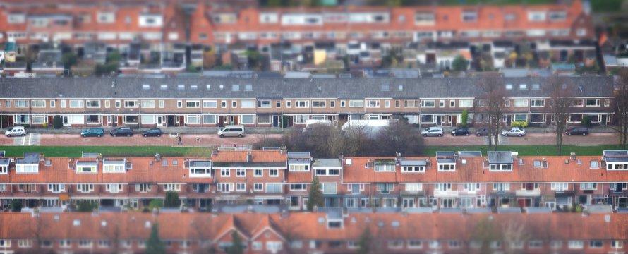 """Dakenlandschap_""""Utrecht vanuit de lucht"""" (CC BY-SA 2.0) by Sebastiaan ter Burg"""