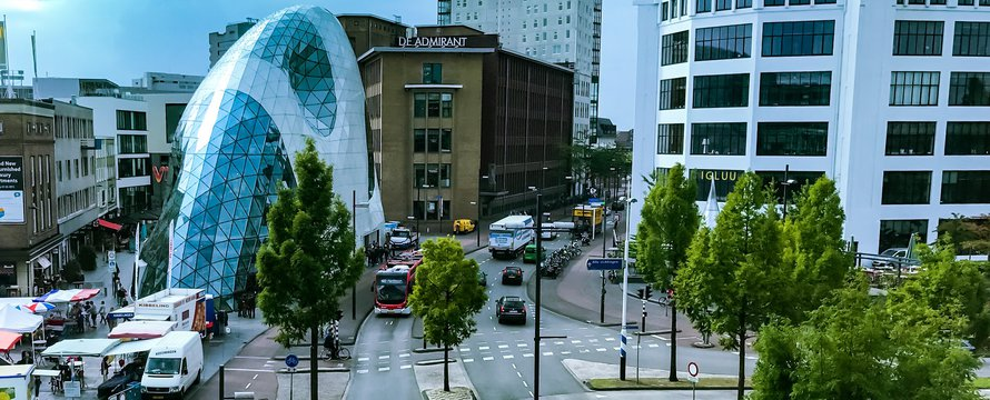 Eindhoven Centrum (door Wsciekle Flaczki op Flickr)