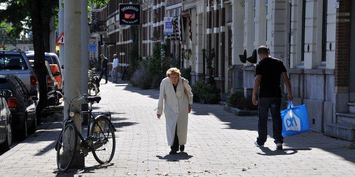 """Inclusieve Stad """"'Gebukt onder het leven' Bergselaan Rott"""" (CC BY 2.0) by FaceMePLS"""