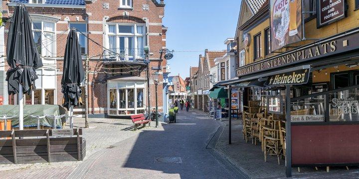 Coronacrisis Texel, Den Burg - Paul van de Velde via Flickr