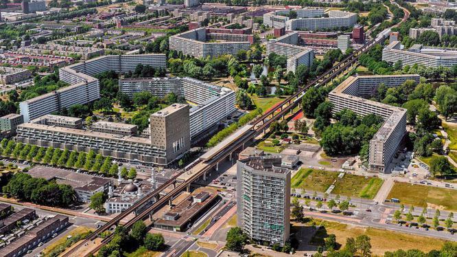 K-buurt luchtfoto