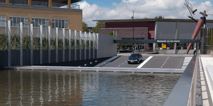 Parkeergarage Museumplein Rotterdam