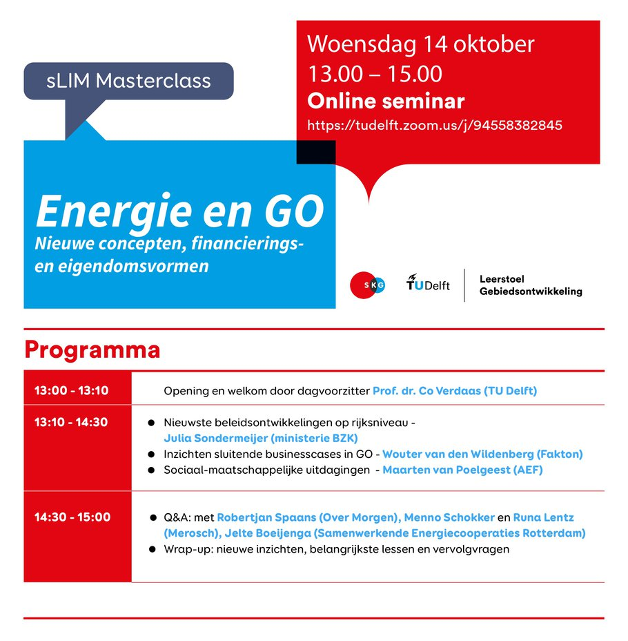 programma energie en Go