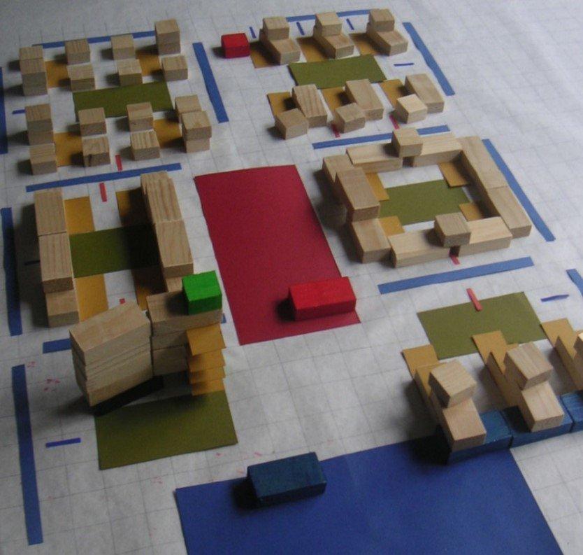 Stedenbouwkundige ruimtelijke opzet