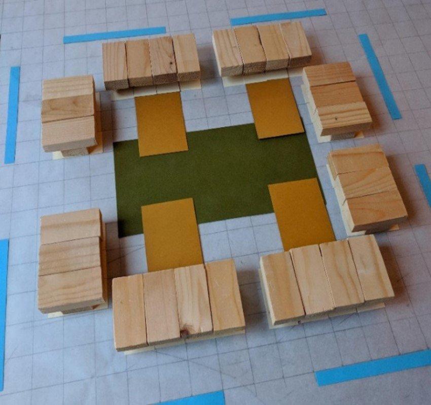 Architectonische ruimtelijke opzet