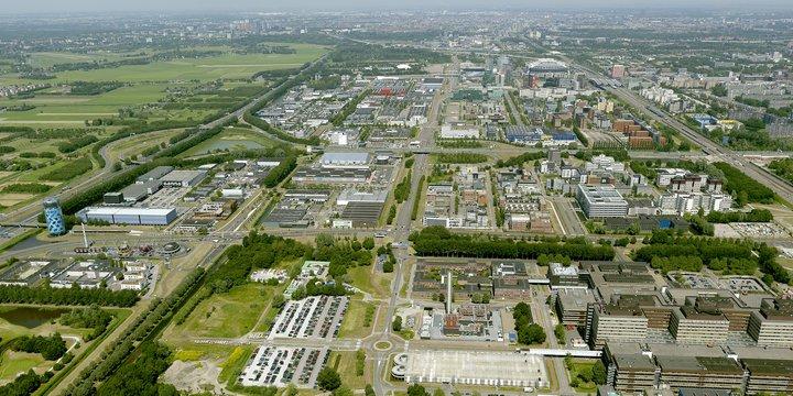 Amsterdam-Zuidoost, gebied Amstel-Stad. Foto: Gemeente Amsterdam/Your Captain, 2020