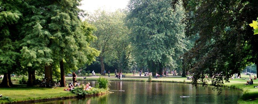Amsterdam Vondelpark Vijver