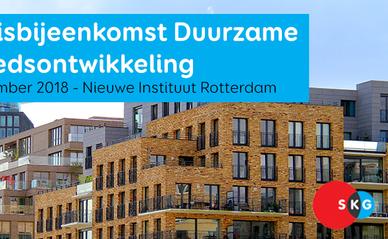 Banner Kennisbijeenkomst 'Duurzame Gebiedsontwikkeling' op 27 september