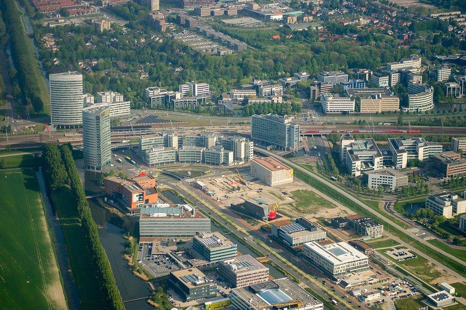 Park 2020 in aanbouw - Beukenhorst-Zuid in Hoofddorp