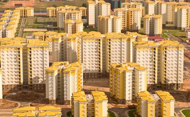 The new city of Kilamba in Luanda Province (Wikimedia)