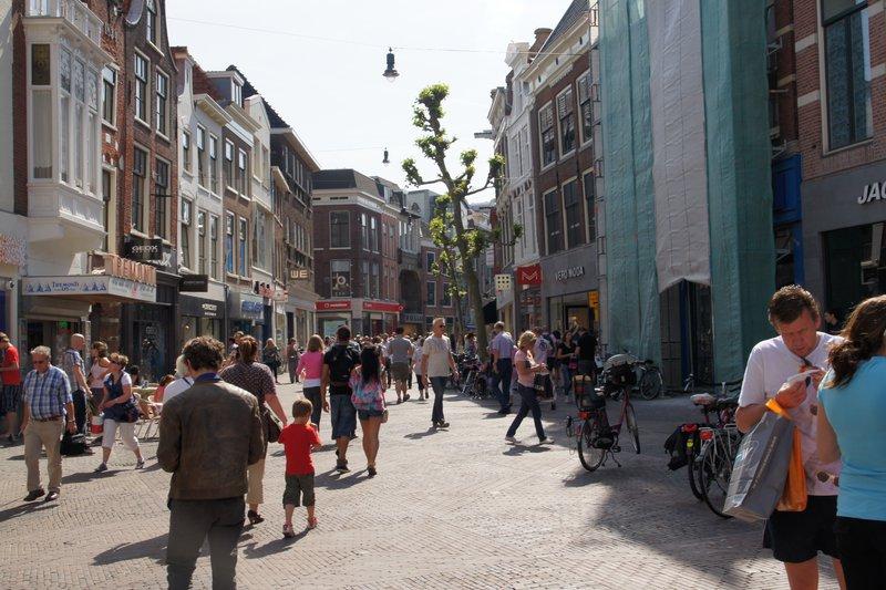 Levendig winkelgebied (Haarlem) - Flickr