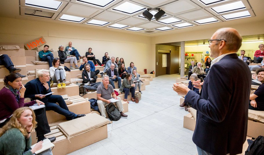 Masterclass tijdens tentoonstelling Places of Hope