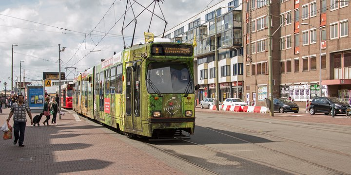 Den Haag HS Tram HTM 3005