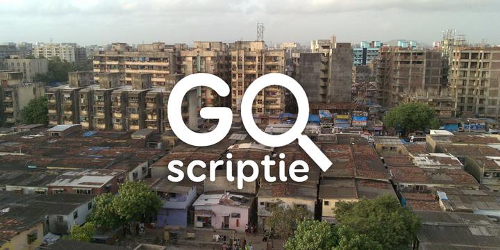 Dharavi Mumbai scriptie