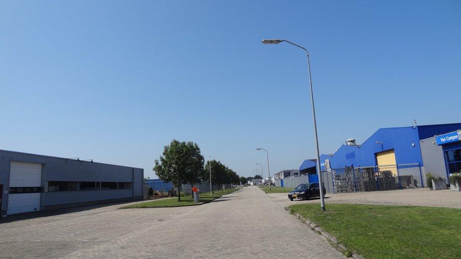 Groen terrein, maar zonder voorzieningen voor een lunchronde of fietsers.