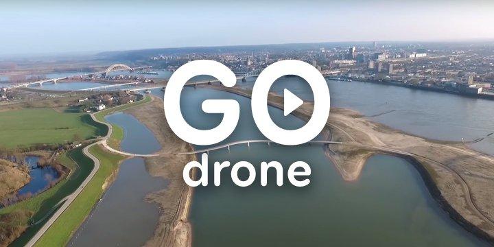 GO Drone: Langs de Waal