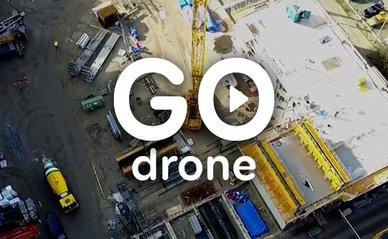 Energiekwartier den haag drone