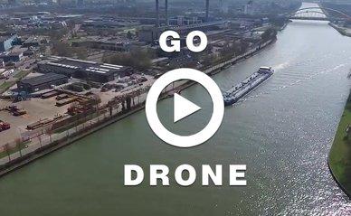 GO drone amsterdam rijnkanaal