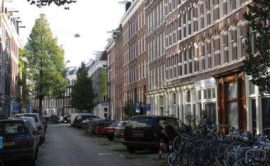 Straat Amsterdam