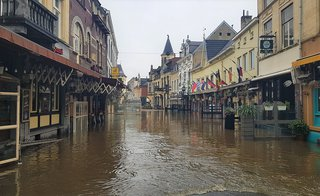 Geul overstroming, juli 2021