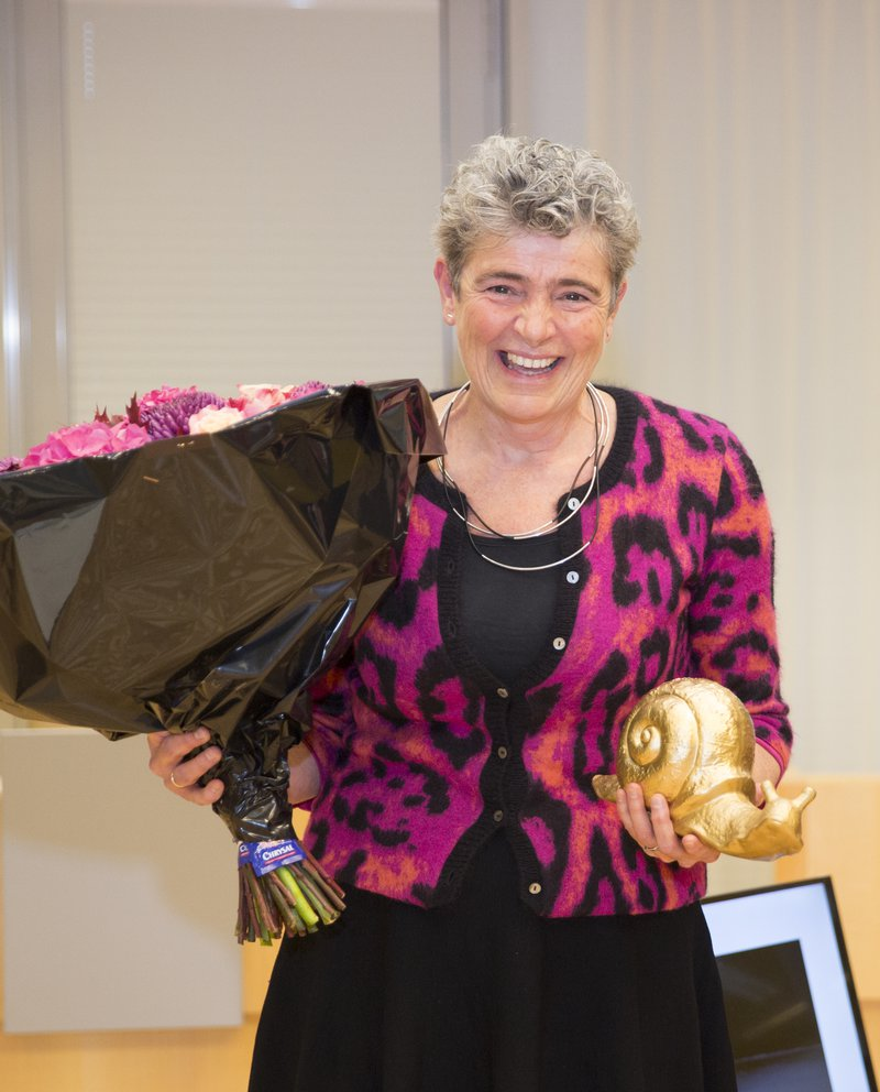 Monique Arnolds gouden slak