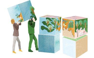 Strooisel opinie ruimtelijke puzzel